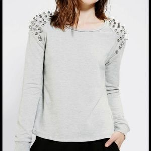Silence & noise super studded sweatshirt